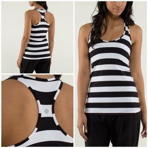 Lululemon Cool Racerback Straightup Stripe Black